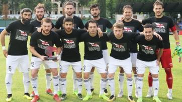Игроки клубов Грузии поддержали акцию протестов