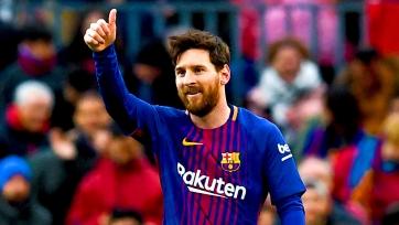 «Барселона» трогательно поздравила Месси с 32-летием. Видео