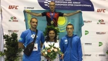 Казахстанский боец стал чемпионом Европы по ММА