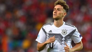 Разрядил пушку! Эффектный гол немецкого форварда в матче молодежного Евро. Видео