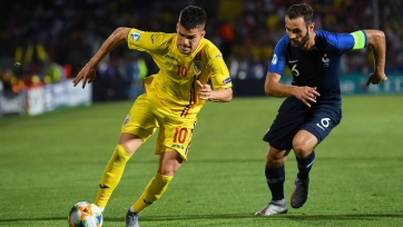 Франция и Румыния сыграли вничью, которая вывела обе сборные в полуфинал молодежного чемпионата Европы