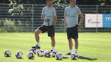 Анюков вошел в тренерский штаб «Зенита»