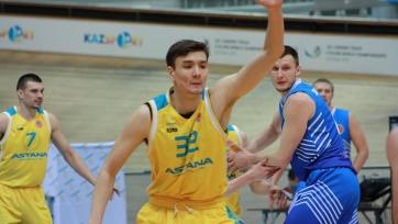 Баскетбольная «Астана» продлила Майдекина