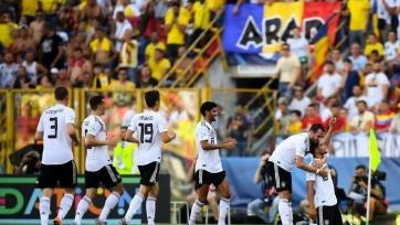 Германия благодаря двум голам на последних минутах обыграла Румынию и вышла в финал молодежного Евро
