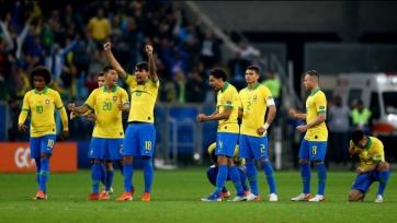 Бразилия по пенальти переиграла Парагвай и вышла в полуфинал Кубка Америки. Видео