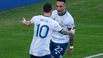 Сборная Аргентины сыграет против Бразилии, после победы над Венесуэлой в четвертьфинале Кубка Америки