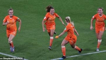 Сборная Нидерландов вышла в полуфинал женского чемпионата мира