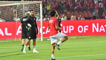 Салах отметился эффектным голом со штрафного в матче с Угандой. Видео