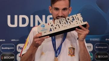 Руис признан лучшим игроком молодежного Евро-2019