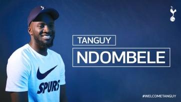 Официально: полузащитник «Лиона» Ндомбеле перешел в «Тоттенхэм»