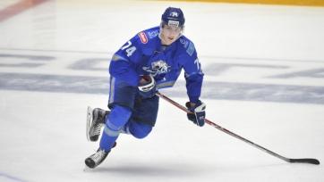 «Барыс» продлил контракт с защитником сборной Казахстана