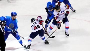 Хоккей. Сборная Казахстана провела четвертый выставочный матч в Южной Корее