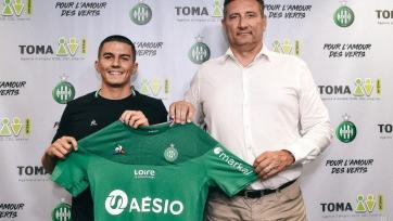«Сент-Этьен» подписал защитника «Барселоны»
