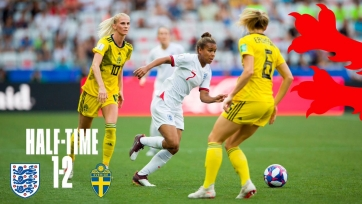 Швеция одолела Англию и стала третьей на женском чемпионате мира