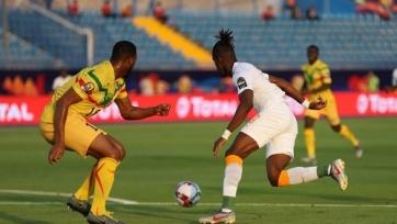 Гол Заа вывел Кот-д'Ивуар в четвертьфинал Кубка Африки. Видео