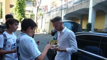 Полузащитник СПАЛ проходит медосмотр в «Лацио»