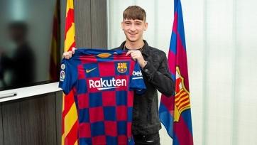 «Барселона» оформила трансфер 16-летнего нападающего