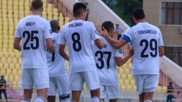 «Ордабасы» переиграл «Торпедо» в первом отборочном раунде Лиги Европы