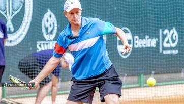 Голубев вышел в финал турнира в Алматы