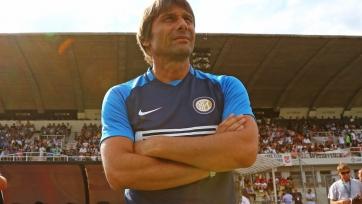 «Интер» выиграл первый матч под руководством Конте