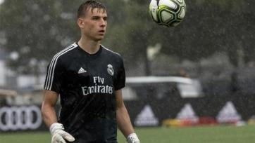 «Реал» отдаст Лунина в аренду