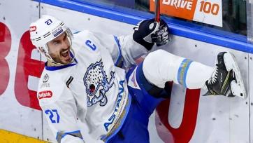 Капитан «Барыса» и хоккейной сборной Казахстана завершил карьеру