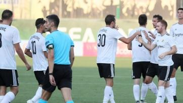 Сербский клуб «Чукарички» уверенно прошел армянский «Бананц» в квалификации Лиги Европы