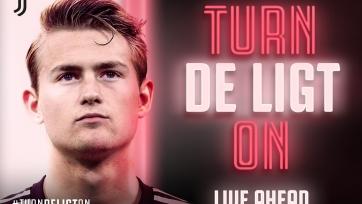 «Ювентус» объявил о подписании Де Лигта