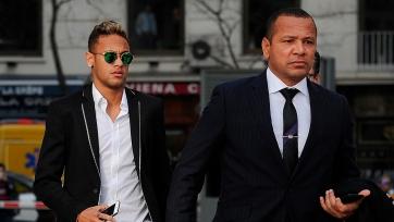 Отец Неймара проведет встречу со спортивным директором «Ювентуса»