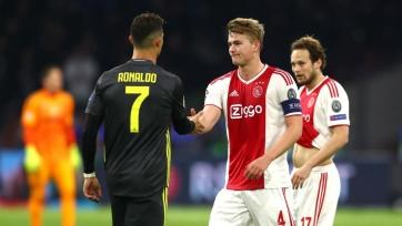 Де Лигт отрицает влияние Криштиану Роналду на переход в «Ювентус»