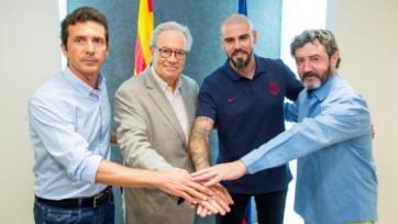Вальдес вернулся в «Барселону»