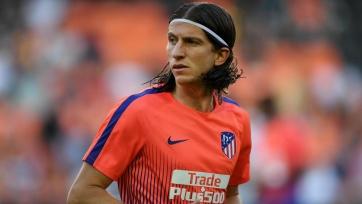 «Атлетико» попрощался с Луисом перед его возвращением на родину