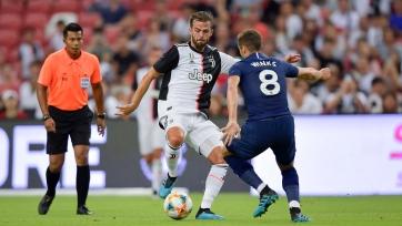 «Тоттенхэм» вырвал победу у «Ювентуса» в матче Международного кубка чемпионов