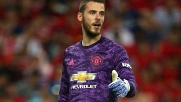 Де Хеа хочет стать капитаном «Манчестер Юнайтед»