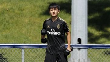 Блестящий гол новичка «Реала» на тренировке. Видео
