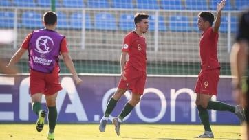 Португалия разгромила Ирландию и вышла в финал юношеского Евро