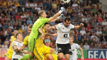 Белорусский БАТЭ забил «Русенборгу» в Лиге чемпионов с несуществующего пенальти. Видео