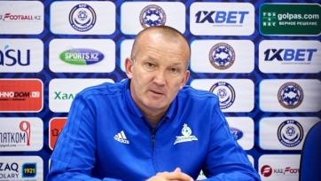Украинский тренер «Астаны» оправдывается за ничью против «сельской команды» в Лиге Европы