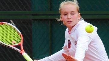 Рыбакина зачехлила ракетку на турнире в Юрмале