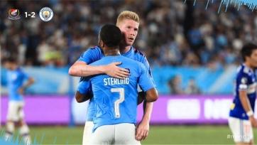 «Манчестер Сити» одолел команду из Японии в товарищеском матче