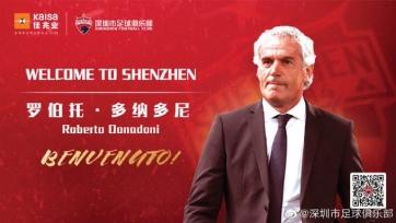 Экс-наставник сборной Италии Донадони возглавил китайский клуб
