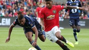 «Манчестер Юнайтед» обыграл «Кристиансунн» благодаря пенальти на компенсированных минутах. Видео