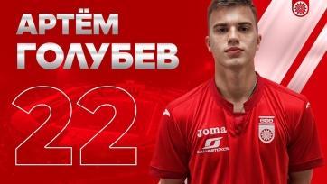 «Уфа» взяла в аренду полузащитника молодежной сборной России