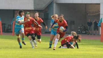 Женская регбийная сборная Казахстана неудачно стартовала в отборе на чемпионат Азии