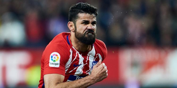 Диего Коста выбыл из игровой обоймы Атлетико