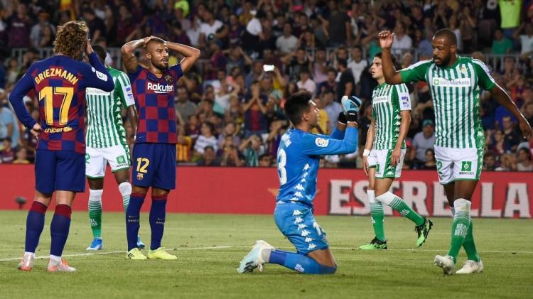 «Барселона» – «Бетис» – 5:2. Текстовая трансляция матча