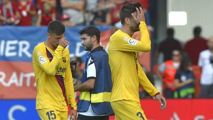 «Осасуна» – «Барселона» – 2:2. 31.08.2019. Чемпионат Испании. Обзор и видео матча