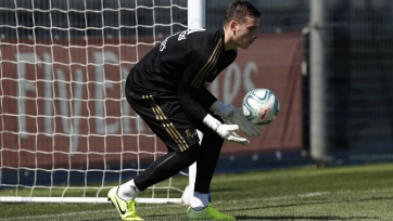 «Реал» хочет отдать Лунина в «Мальорку»