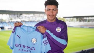 «Манчестер Сити» подписал 17-летнего форварда
