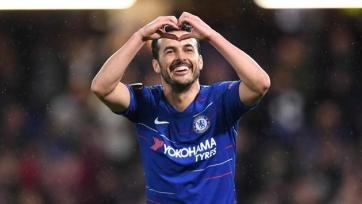 Педро забил невероятный гол пяткой в товарищеском матче. Видео